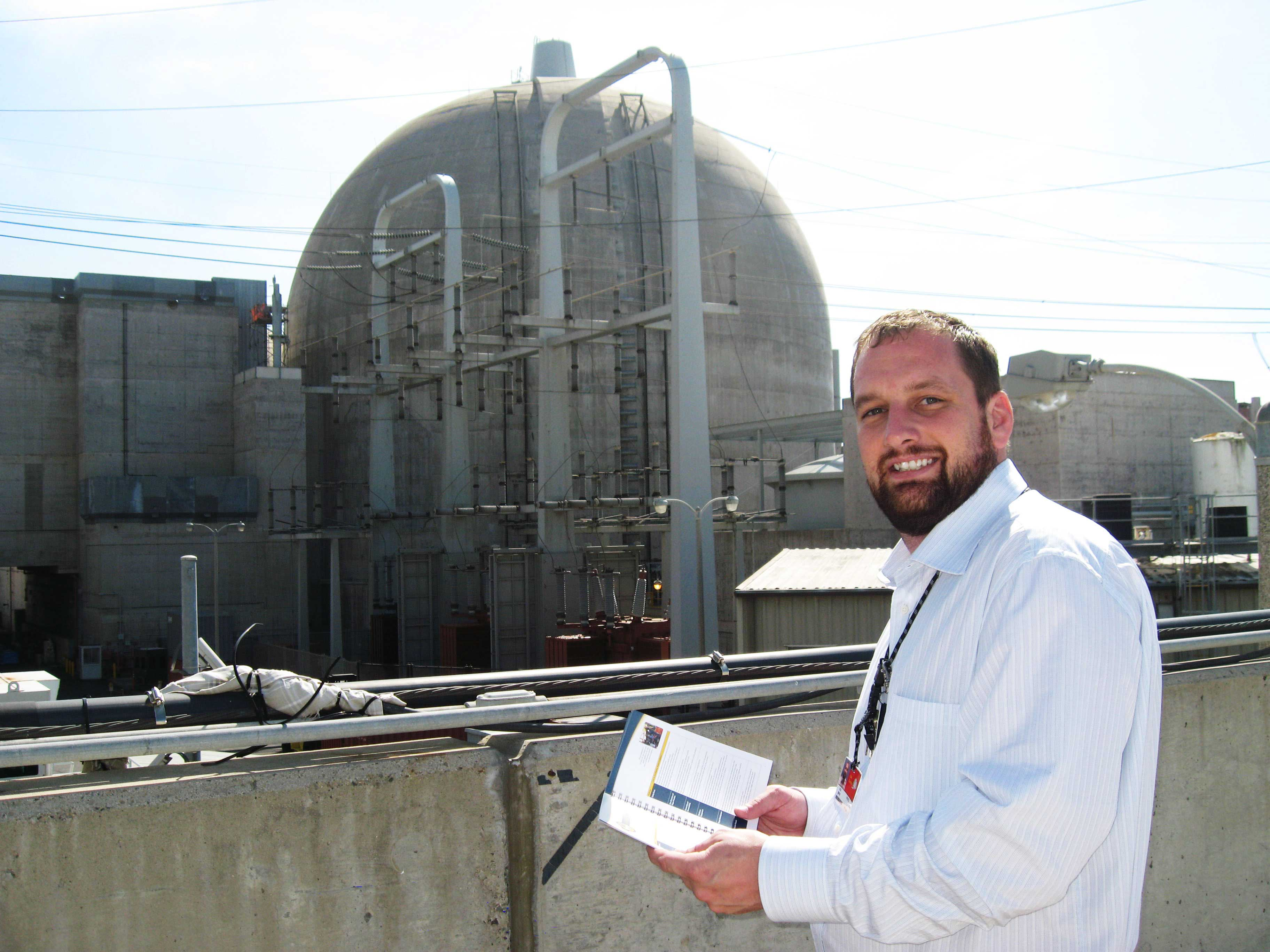 Matthew Hayes '14, MSAST in Nuclear Energy Technology Management