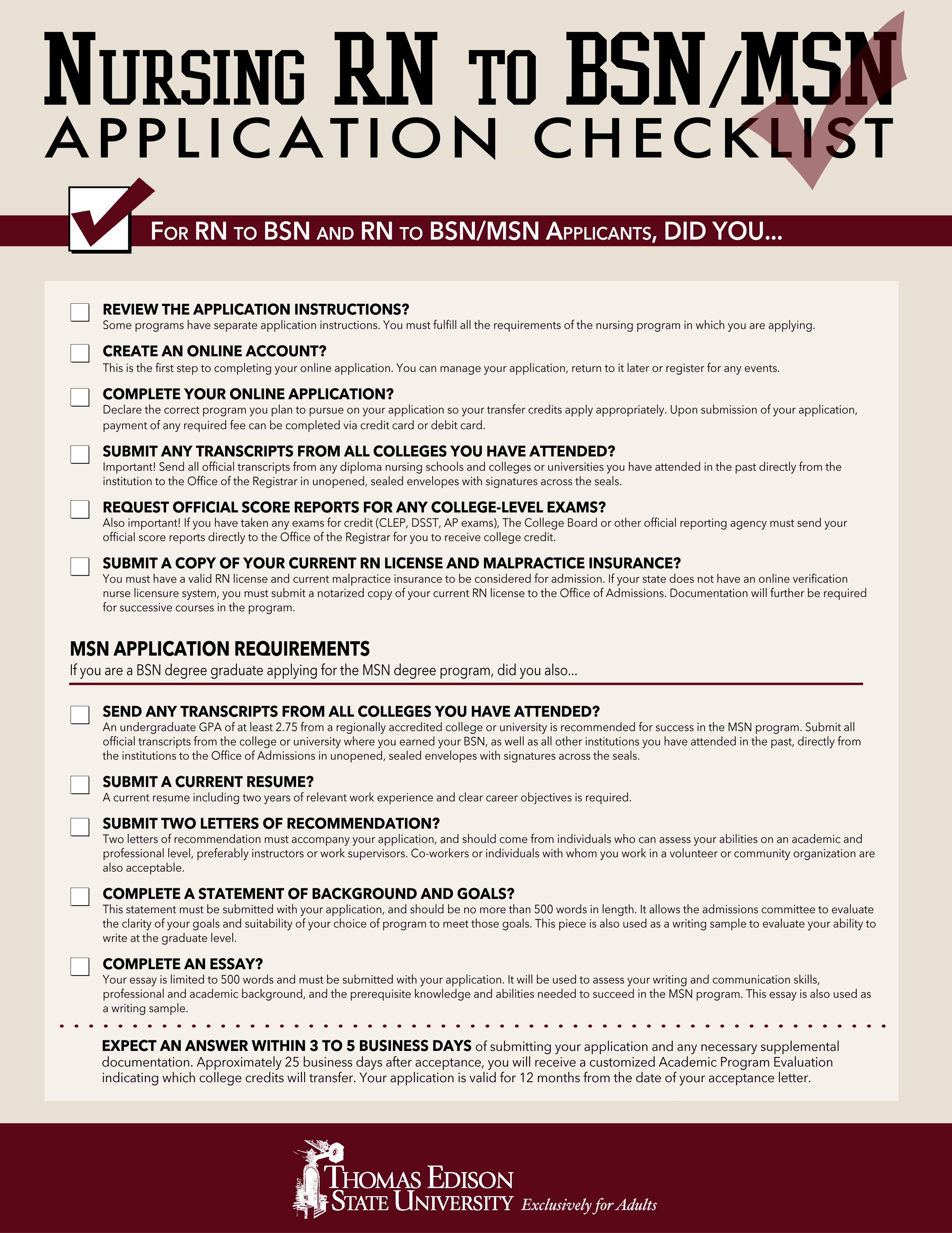 Thomas_Edison_State_University_RN_to_BSN_to_MSN_application_checklist